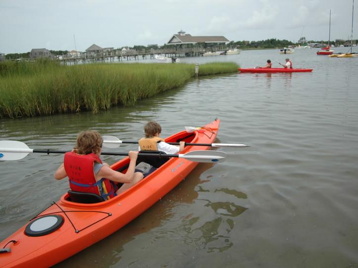Hour Rental Tandem Kayak