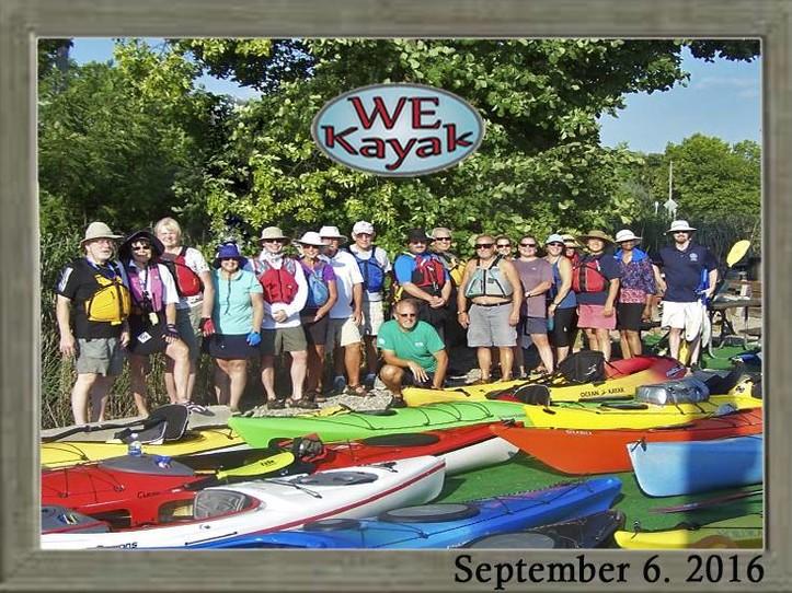 WE Kayak Winter Warm Up