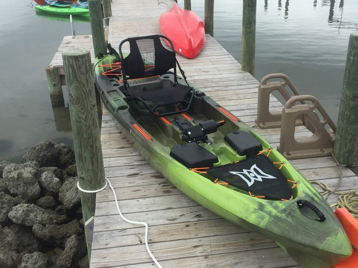 Day Rental Pedal Drive Fishing Kayak