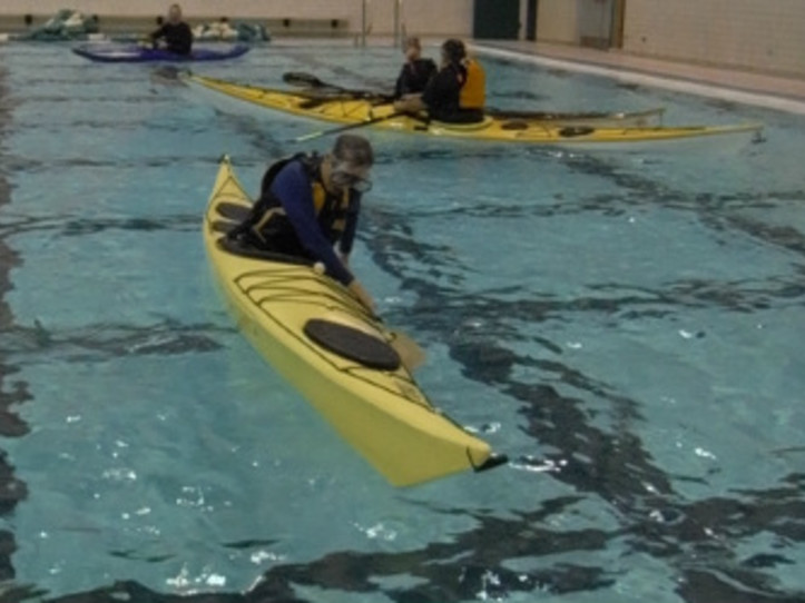 Kayak Rolling Class - YMCA - 2 Sessions