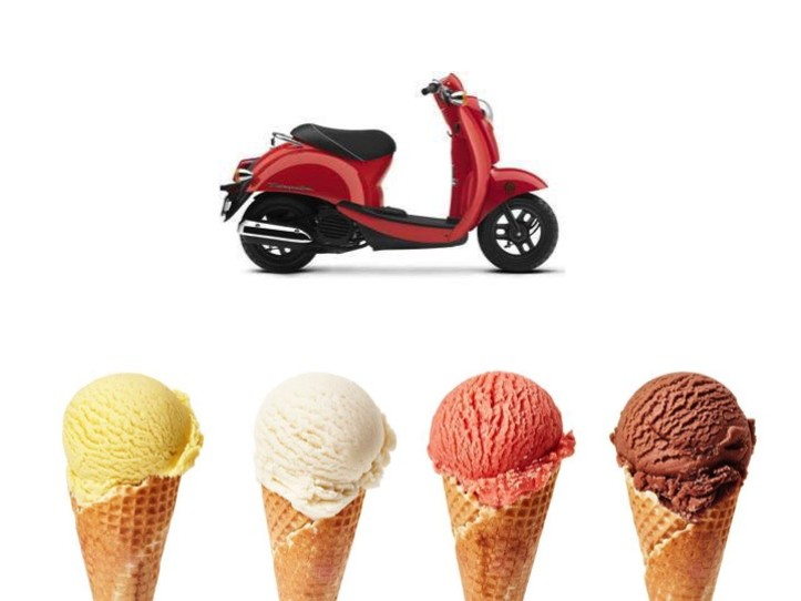 Ice Cream Experience Tour 1 Person Scooter  (Single Seat)