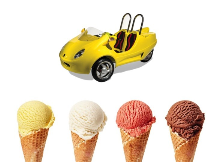 Ice Cream Experience Tour Scoot Coupe