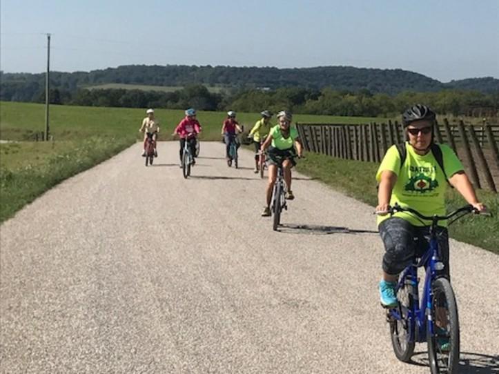Bike to Galena Cellars Vineyard