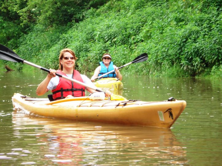 Trip 2 Galena to Ferry Landing Kayak