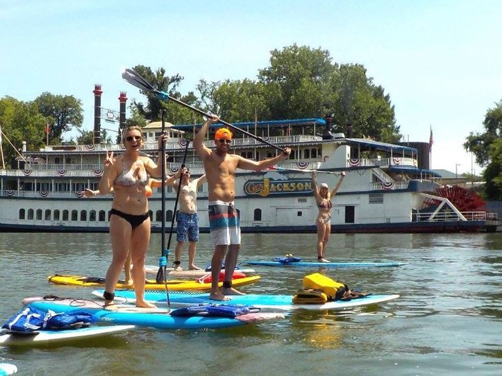 Downtown Nashville SUP Tour
